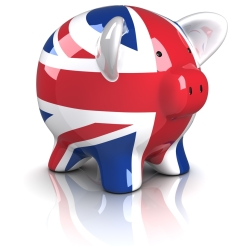 UK piggy bank